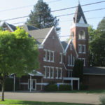The Newberg Friends Church was built in 1892.