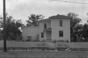 The Hoover-Minthorn House Museum at the 1955 Dedication