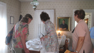 The Historic Home tour came to the Hoover-Minthorn House Museum