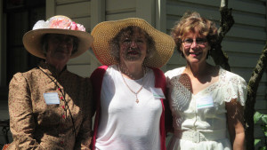 Organizers and volunteers at the Historic Home Tour